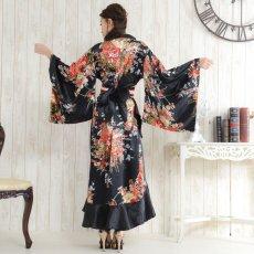 画像3: 帯付き花魁着物ロングドレス (3)