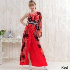 画像2: 【SALE40%OFF】豪華ビジューロング着物ドレス よさこい 花魁 コスプレ キャバドレス (2)
