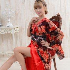 画像4: 【SALE40%OFF】豪華ビジューロング着物ドレス よさこい 花魁 コスプレ キャバドレス (4)