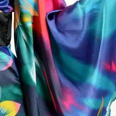 画像18: グラデーションロング着物ドレス 和柄 よさこい 花魁 コスプレ キャバドレス (18)