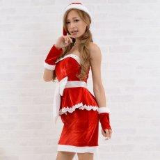 画像7: サンタ3点セットクリスマス サンタコスチューム キャバドレス (7)