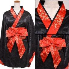 画像12: 【再入荷】和柄着物ドレス 和柄 衣装 ダンス よさこい 花魁 コスプレ キャバドレス (12)
