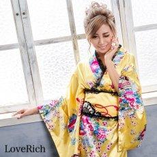 画像3: 【新色追加】レースフリルリボン付きサテン花魁着物ドレス コスチューム コスプレ キャバドレス (3)